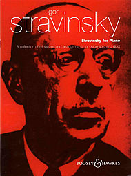 Boosey and Hawkes cover: Stravinsky for piano